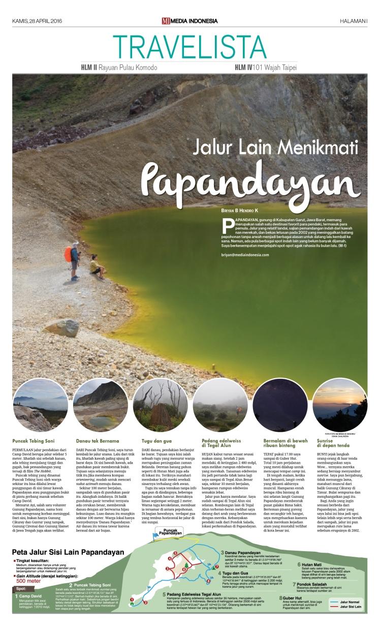 Travelista Papandayan