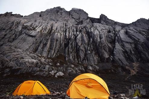 Yellow Valley, titik terakhir yang memungkinkan untuk mendirikan tenda.